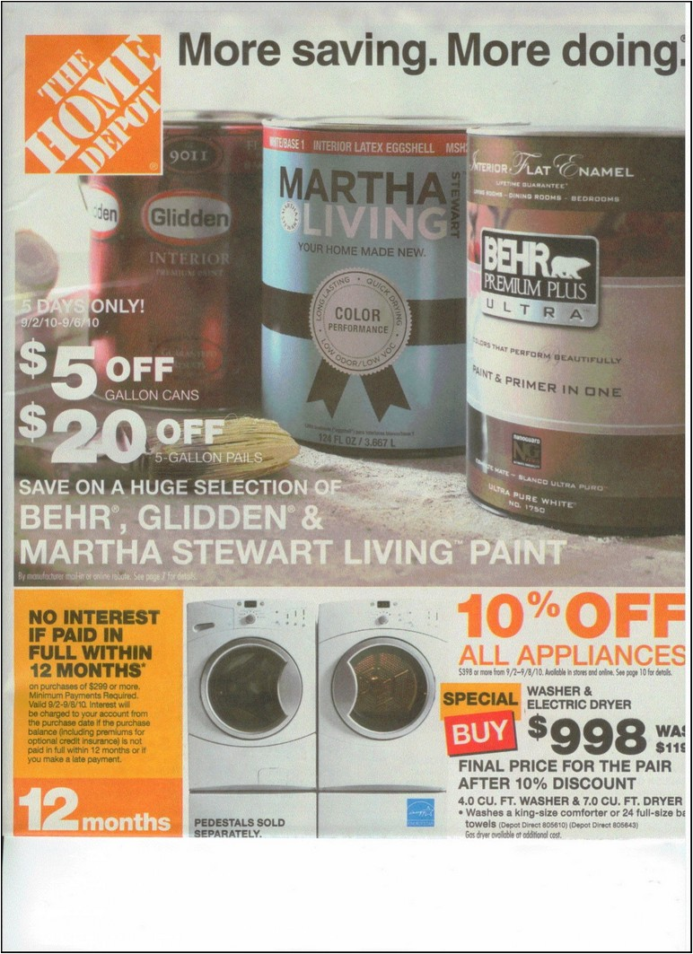 Home Depot Labor Day Sale Refrigerators