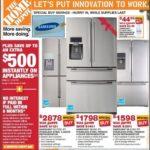 Home Depot Refrigerator Sale