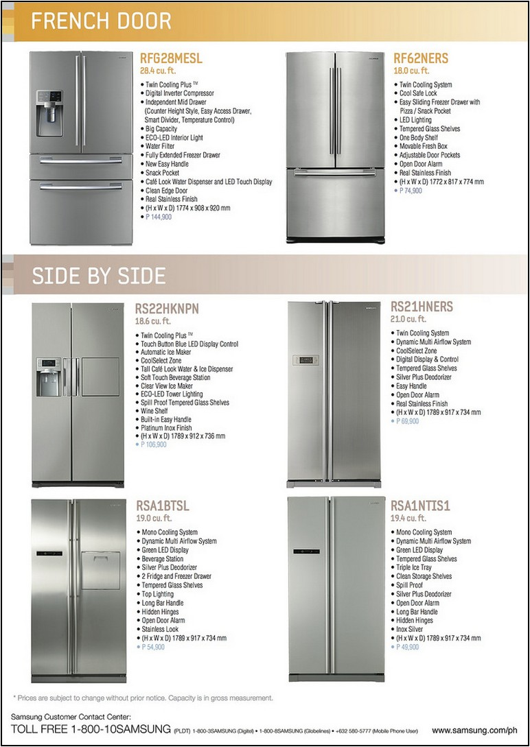 How Much Does A Refrigerator Cost In The Philippines