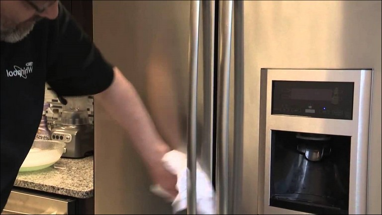 How To Clean Stainless Steel Refrigerator Front