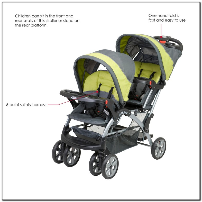 How To Fold Baby Trend Sit And Stand Double Stroller