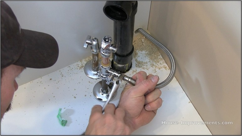 How To Install Refrigerator Water Line