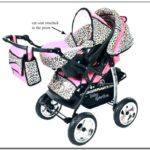 Infant Car Seat Stroller Combo Girl
