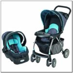 Infant Carseat And Stroller Set