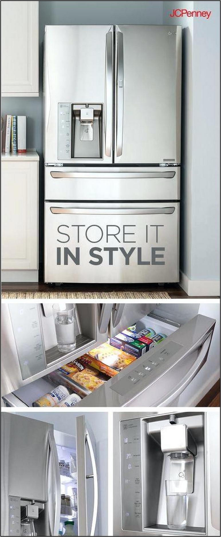Jcpenney Appliances Refrigerators