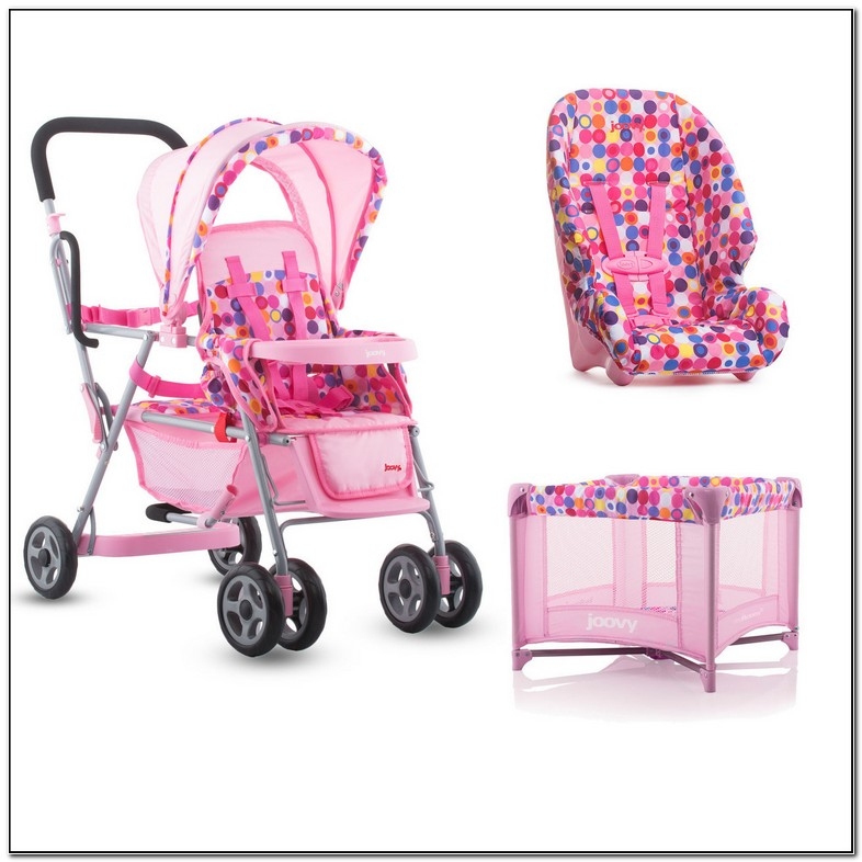 Joovy Baby Doll Stroller With Car Seat