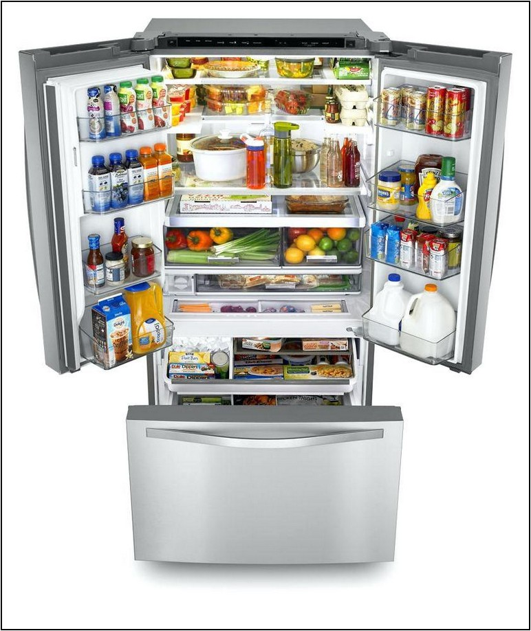Kenmore French Door Refrigerator 32 Inches Wide