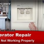 Kenmore Refrigerator Troubleshooting Water Dispenser