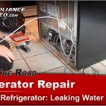 Kenmore Refrigerator Troubleshooting Water Leak