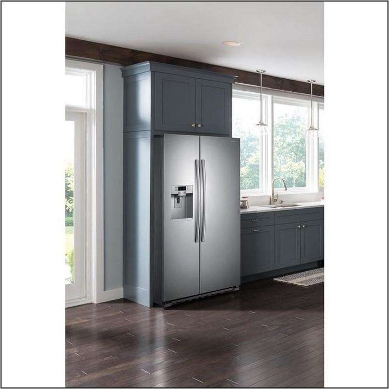 Kitchenaid Counter Depth Refrigerator Home Depot