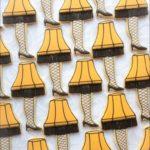Lampshade Leg Cookies