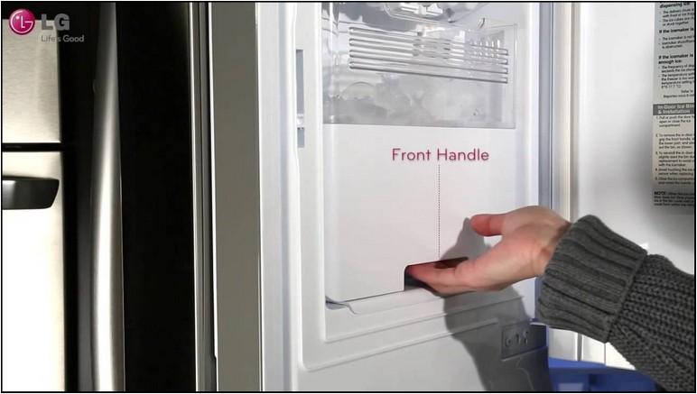 Lg Inverter Linear Refrigerator Ice Maker