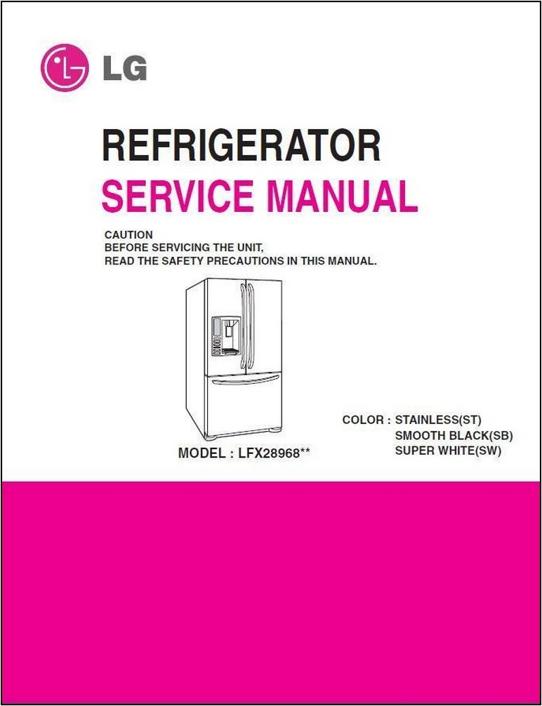 Lg Refrigerator Manual