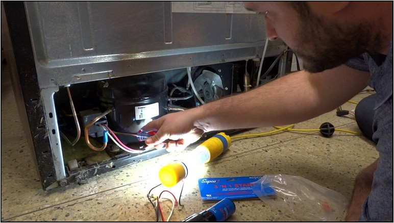 Lg Refrigerator Not Cooling Compressor Hot