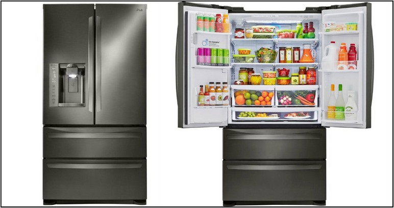 Lg Smudge Proof Stainless Steel Refrigerator