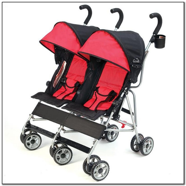 Lightweight Double Umbrella Strollers