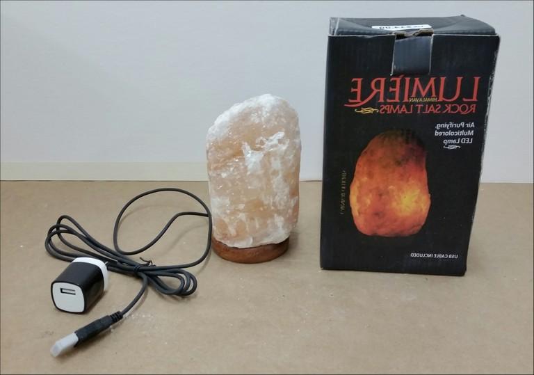 Lumiere Himalayan Rock Salt Lamp Recall