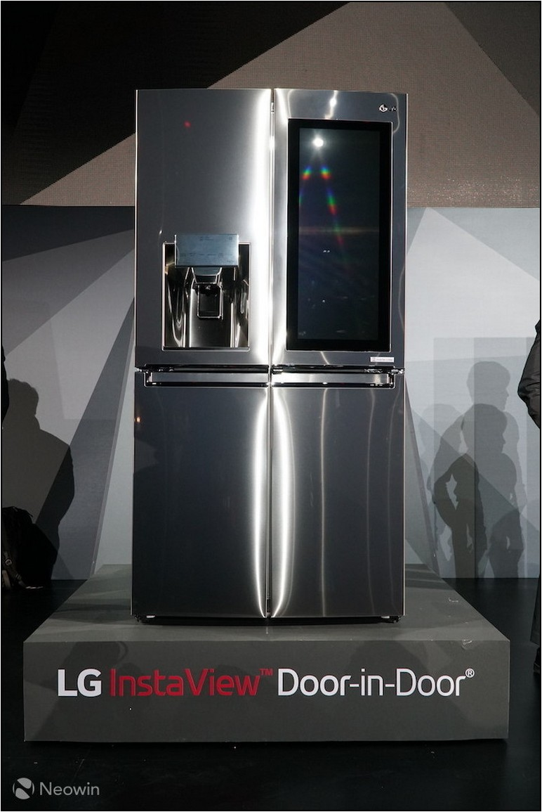 New Refrigerator With Camera