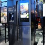 New Samsung Refrigerator With Touch Screen