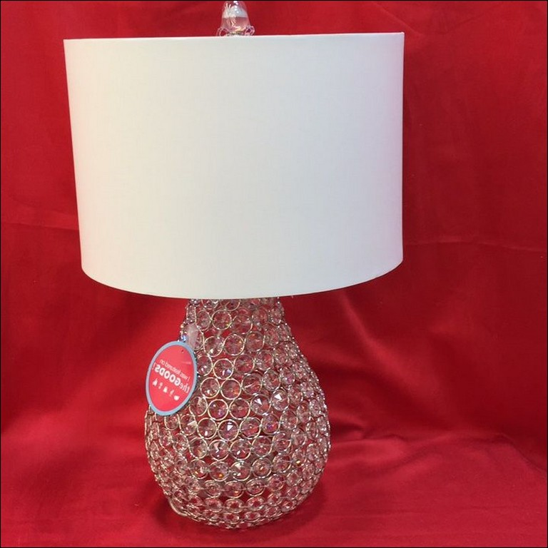 Nicole Miller Crystal Table Lamps