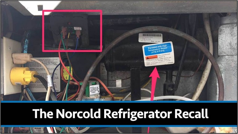 Norcold Rv Refrigerator Recall Parts