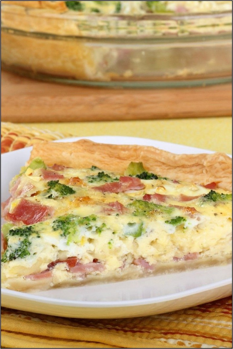 Pillsbury Refrigerated Pie Crust Quiche