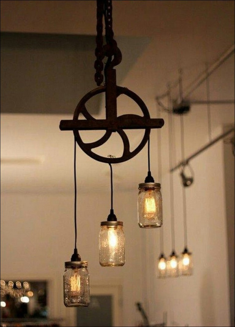 Pulley Lamp