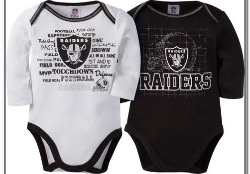 Raiders Baby Clothes