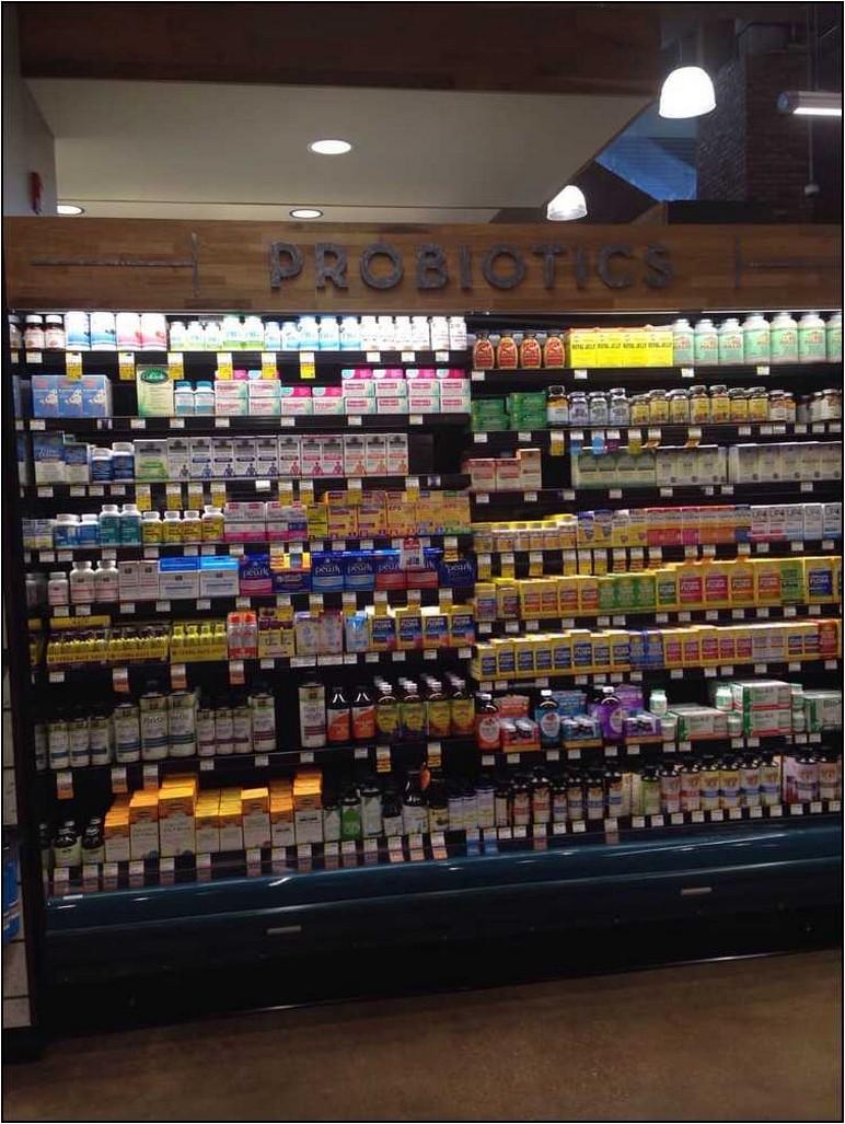 Refrigerated Probiotics Whole Foods