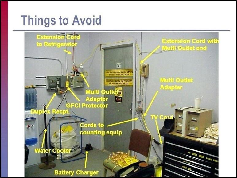 Refrigerator Extension Cord