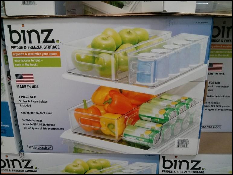 Refrigerator Organization Bins Costco
