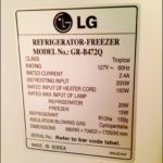 Refrigerator Power Consumption Watts