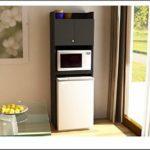 Refrigerator Storage Unit Black Stipple