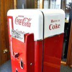 Retro Coke Refrigerator For Sale