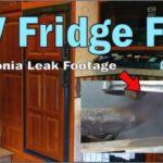 Rv Refrigerator Propane Leak