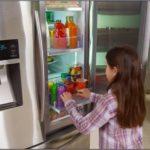 Samsung 4 Door Showcase Refrigerator Counter Depth