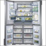 Samsung Refrigerator 34 Wide
