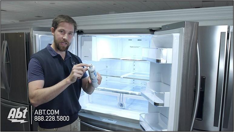 Samsung Refrigerator Filter Change