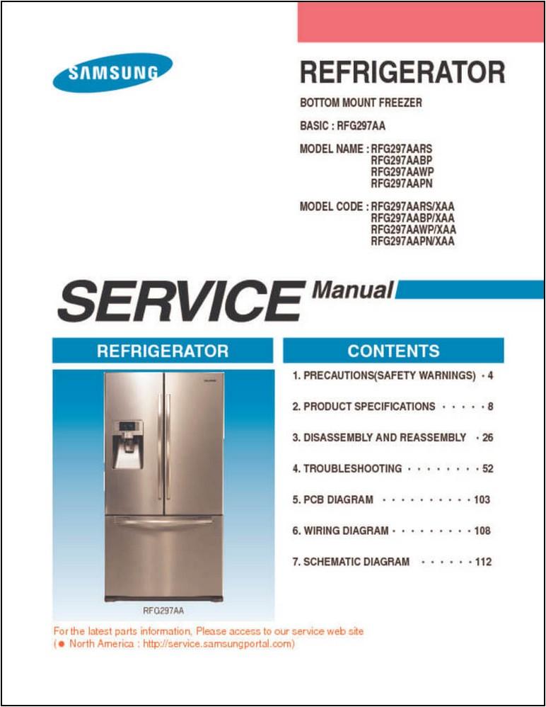 Samsung Refrigerator Manual