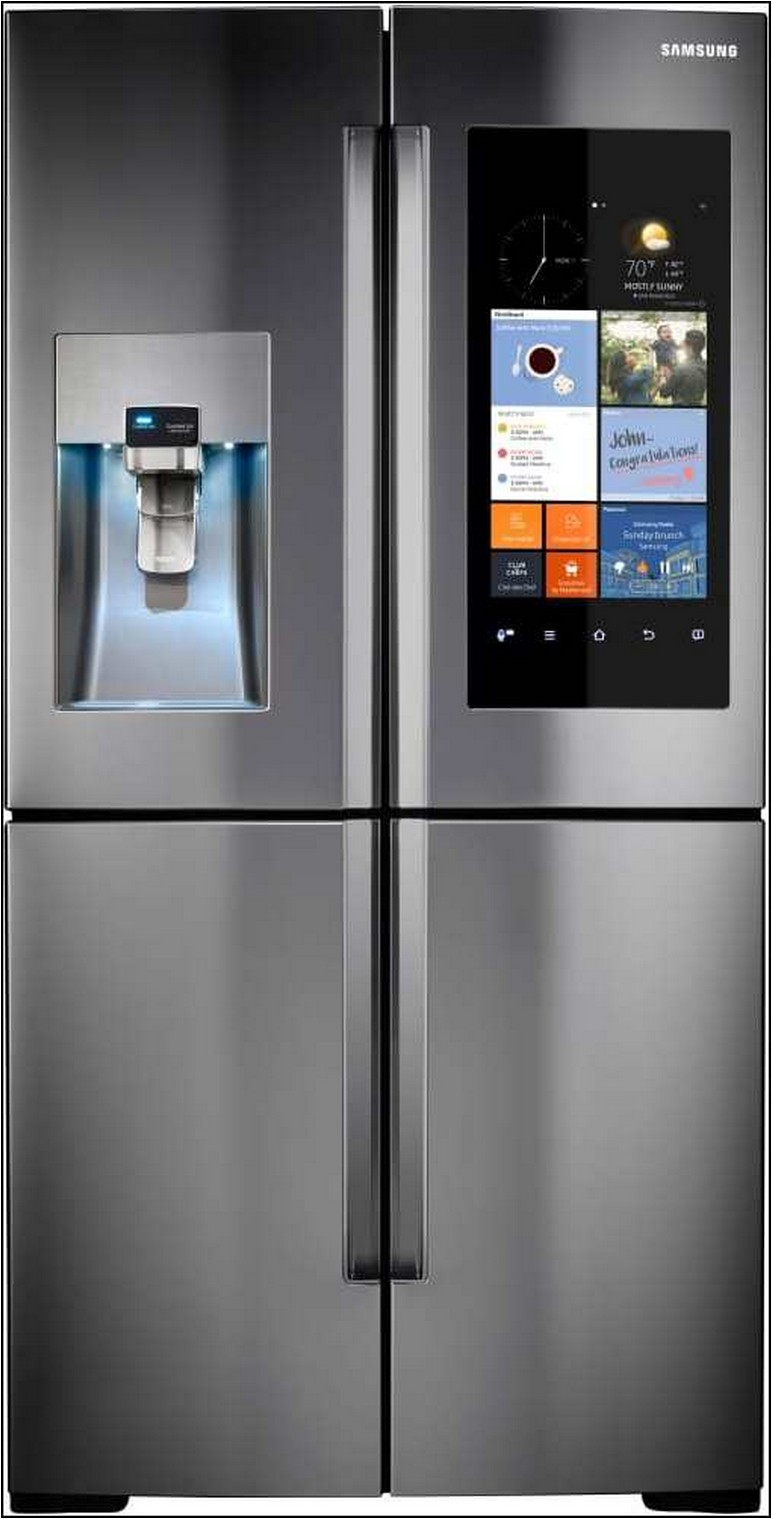 Samsung Refrigerator With Built In Tv