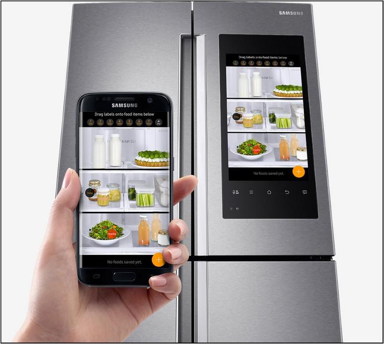 Samsung Refrigerator With Camera Inside