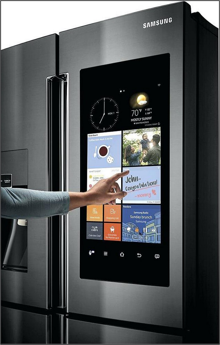 Samsung Refrigerator With Tv