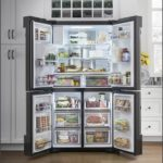 Samsung White Counter Depth French Door Refrigerator