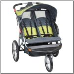 Side By Side Double Stroller With Carseat Attachment