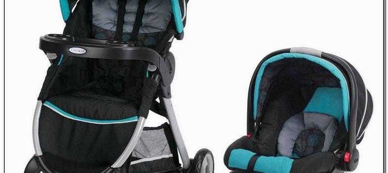 Single Graco Car Seat Stroller Combo