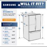 Standard Size Refrigerator Height