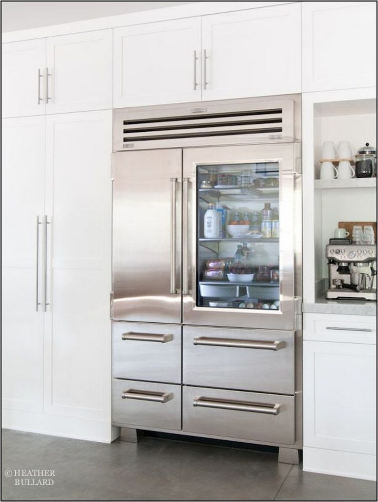 Sub Zero Freestanding Counter Depth Refrigerator