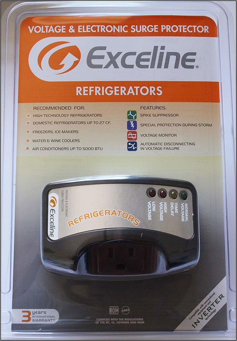 Surge Protector For Refrigerator Amazon