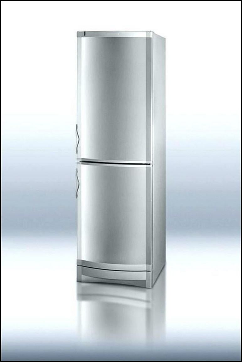 Tall Narrow Refrigerator Stainless Steel