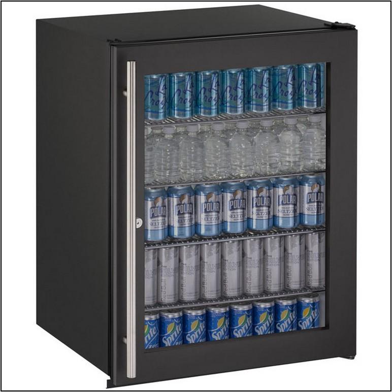 Uline Undercounter Refrigerator Glass Front